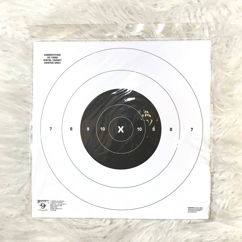HOPPES 9 COMPETITION 25 YARD TARGET
