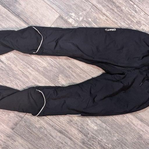 Black craft waterproof leggings