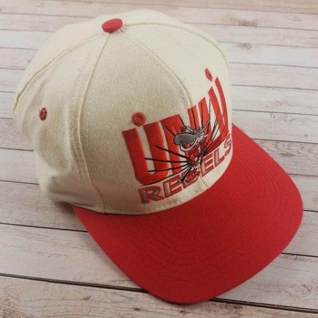 VTG 80s UNLV Runnin Rebels Snapback Hat