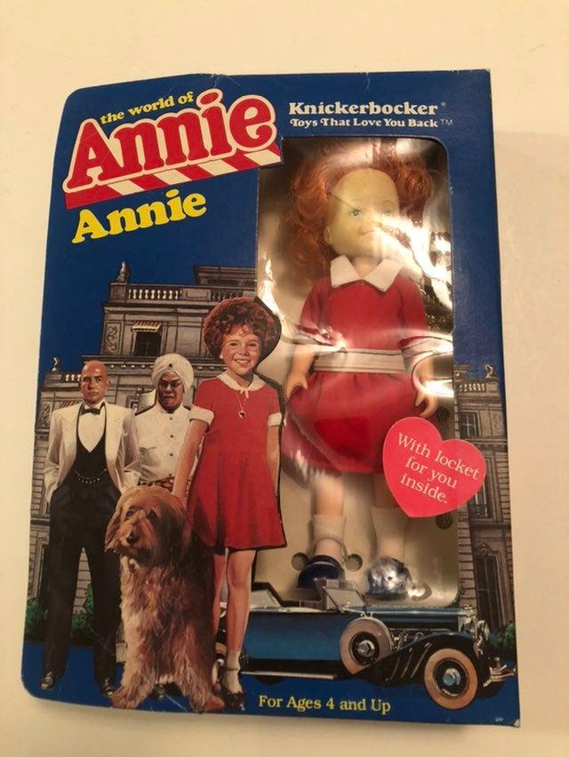 Vintage Annie Figure 1982