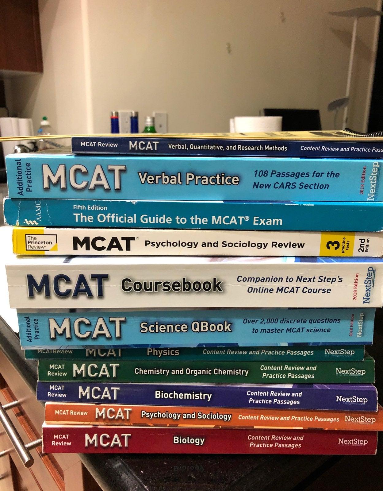 MCAT Test Books