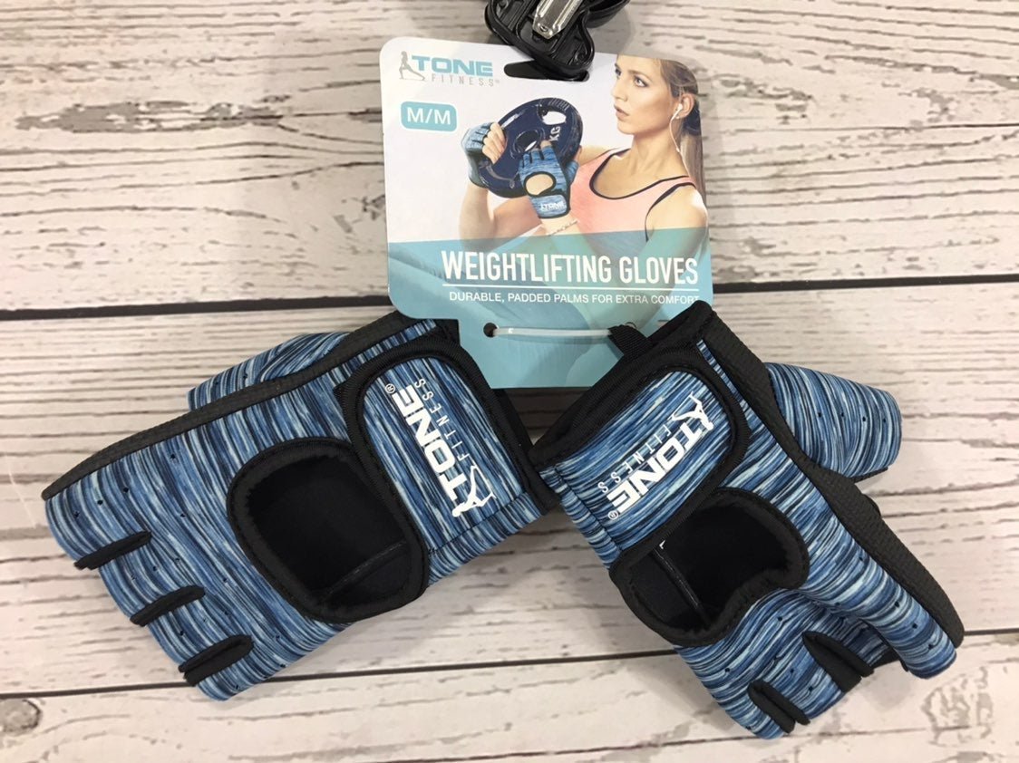New Tone fitness weightlifting gloves