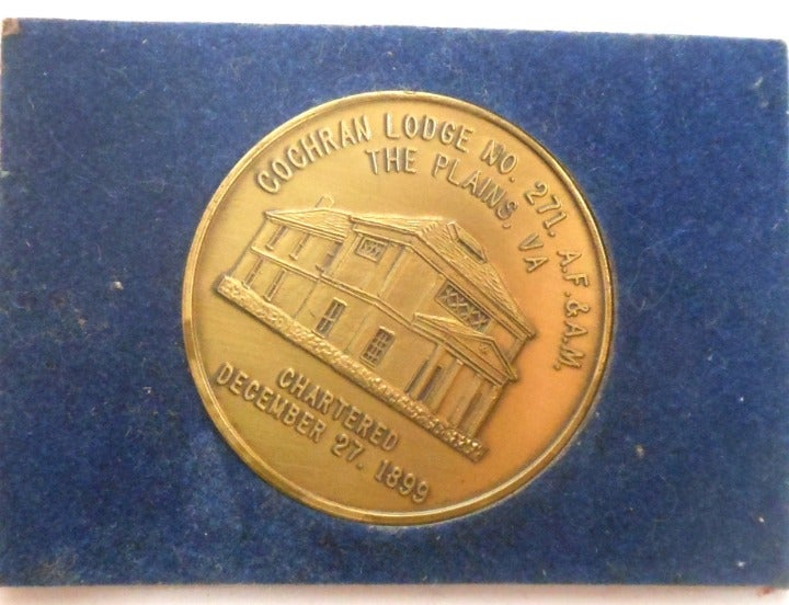Cochran Lodge No 271 A.F. & A.M. Medal