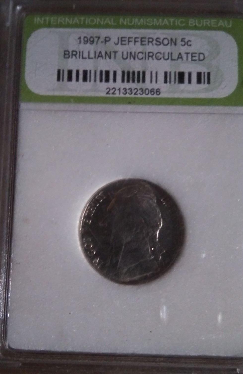 Uncirculated nickel