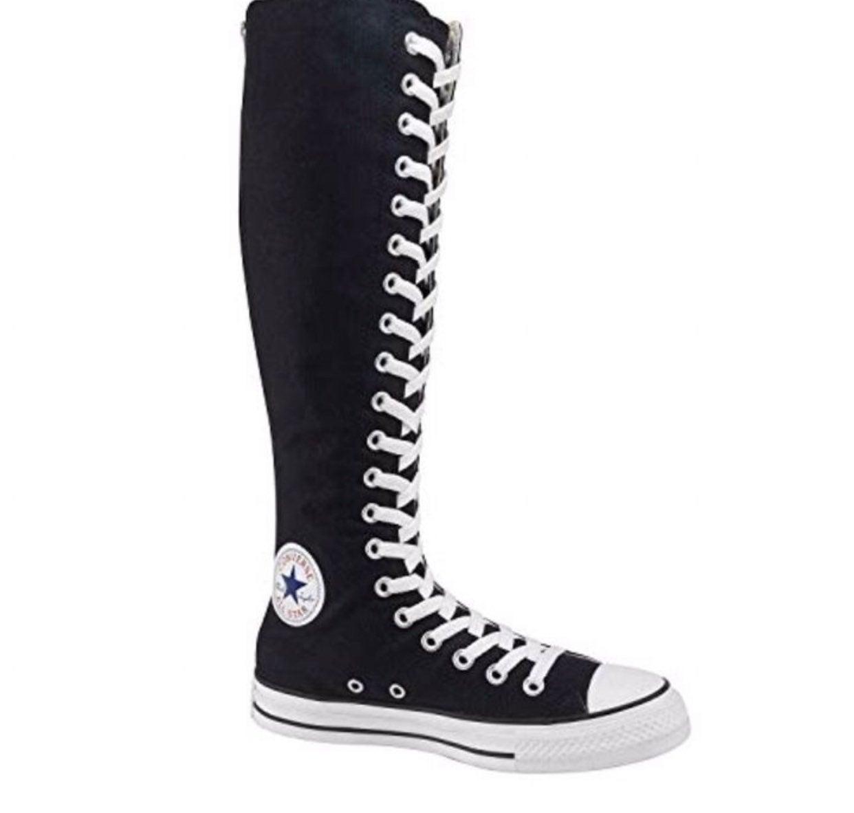 high boots converse