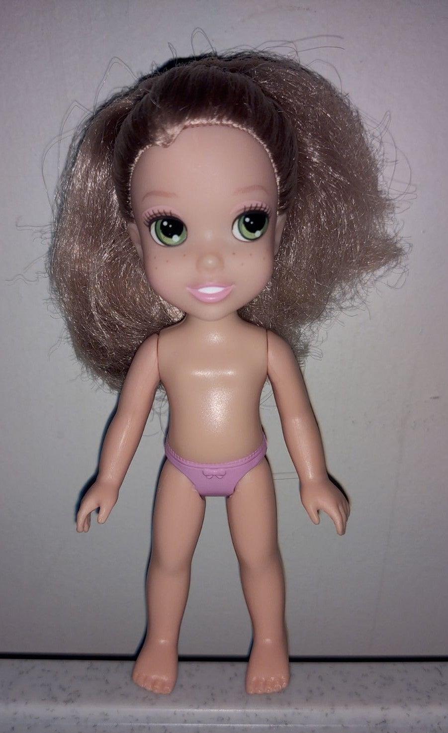 "Disney Rapunzel Toddler 6"" Petite Doll"
