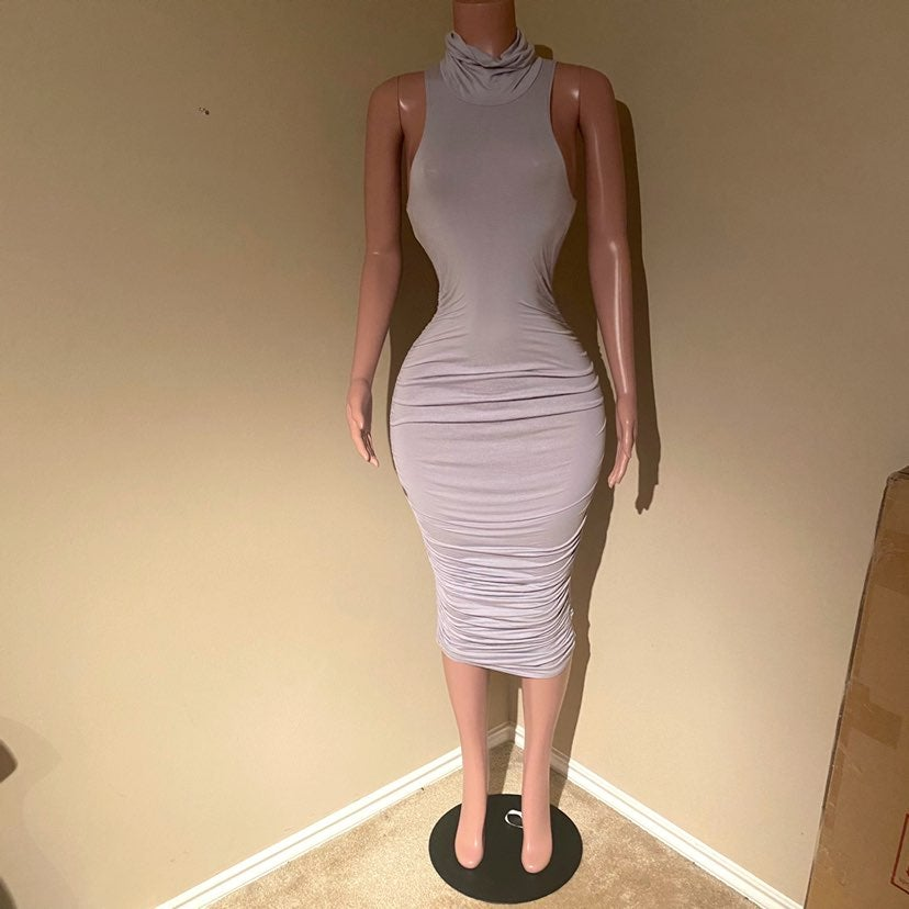 Sexy Missguided Midi Bodycon Dress