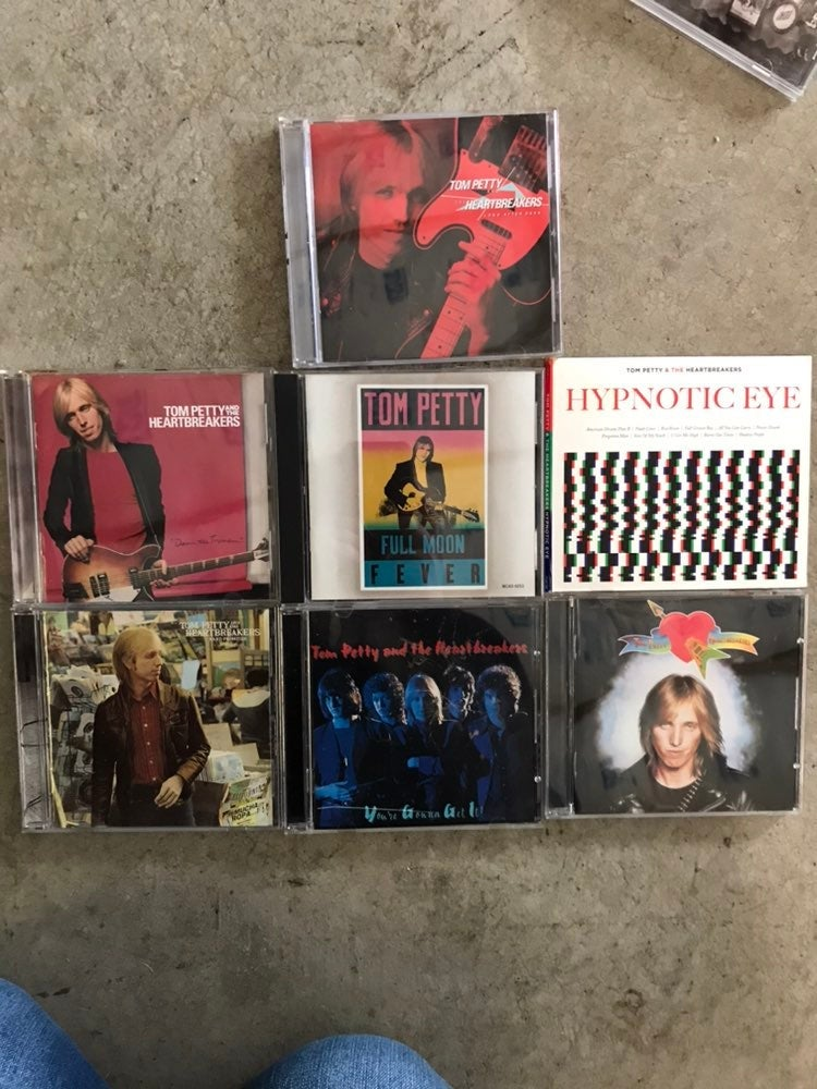 Tom petty and the heartbreakers cds