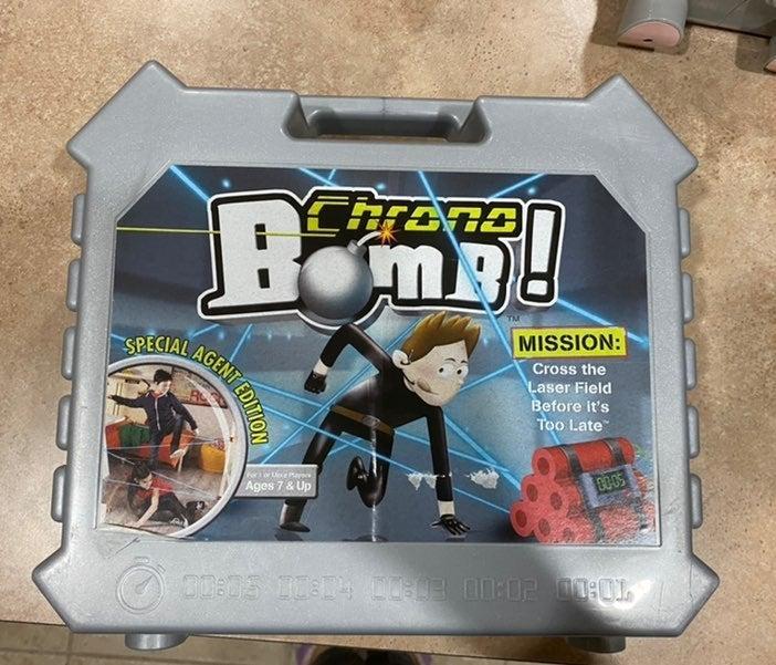 Chrono Bomb Spy game Interactive