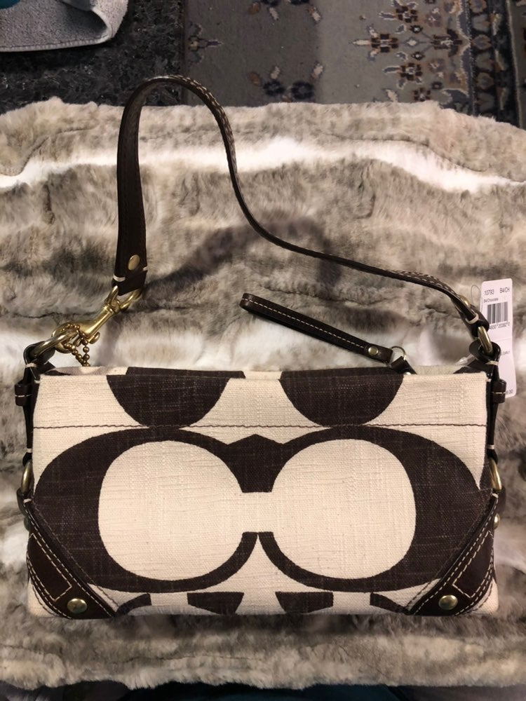 Nwt Coach 10793 signature small carly