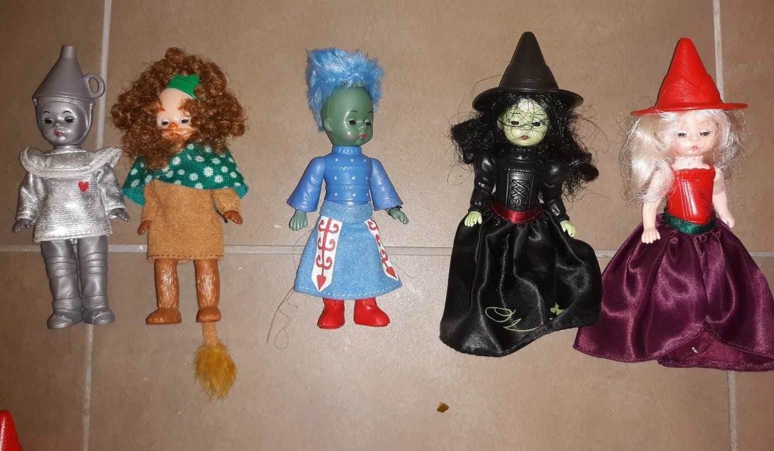 Lot of (5) Madame Alexander Wizard of oz