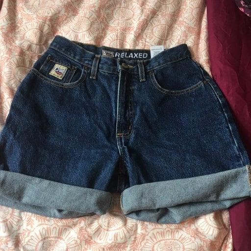 High waisted cruel girl Jean Shorts