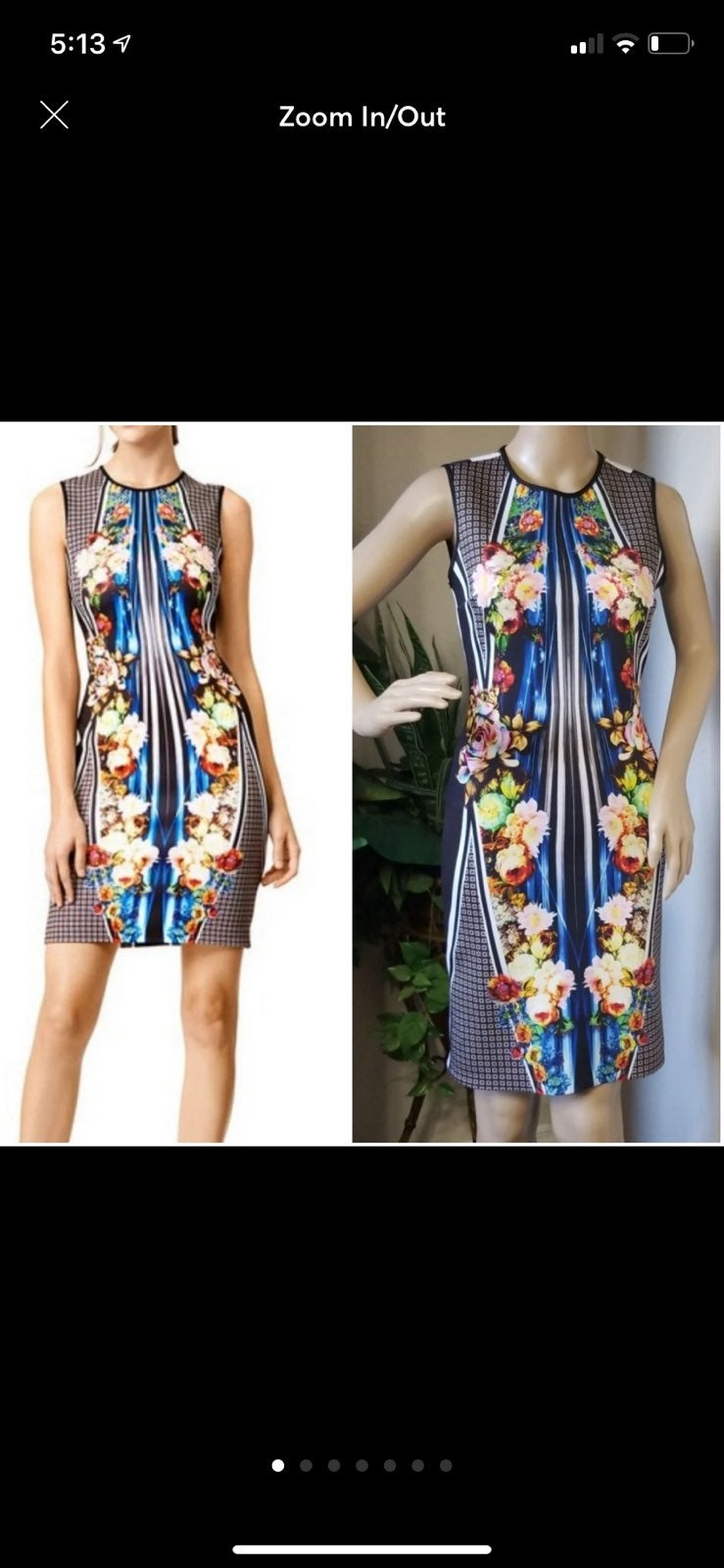 Clover Canyon Neopreen dress