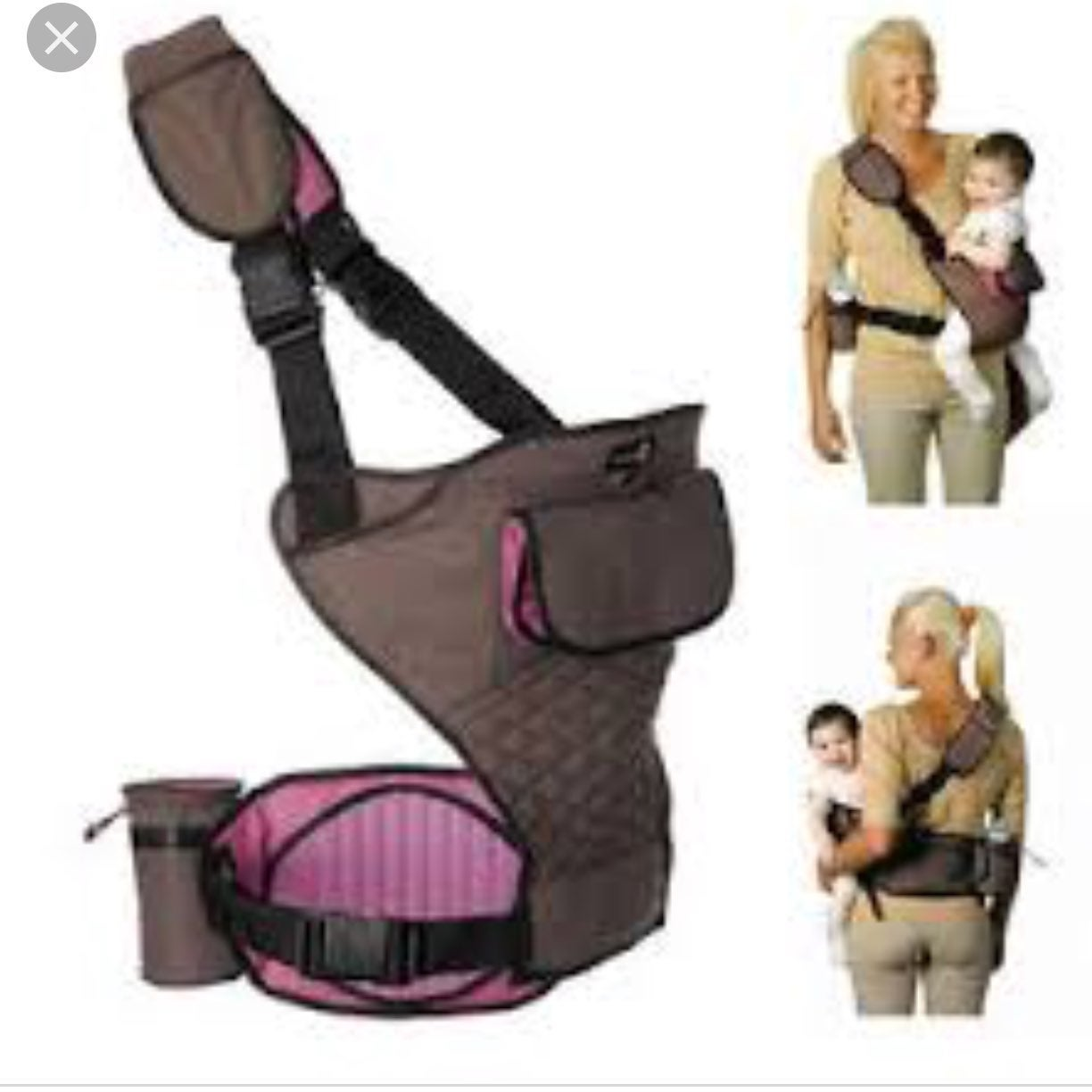 Pottery Barn Portamee Baby Hip Carrier
