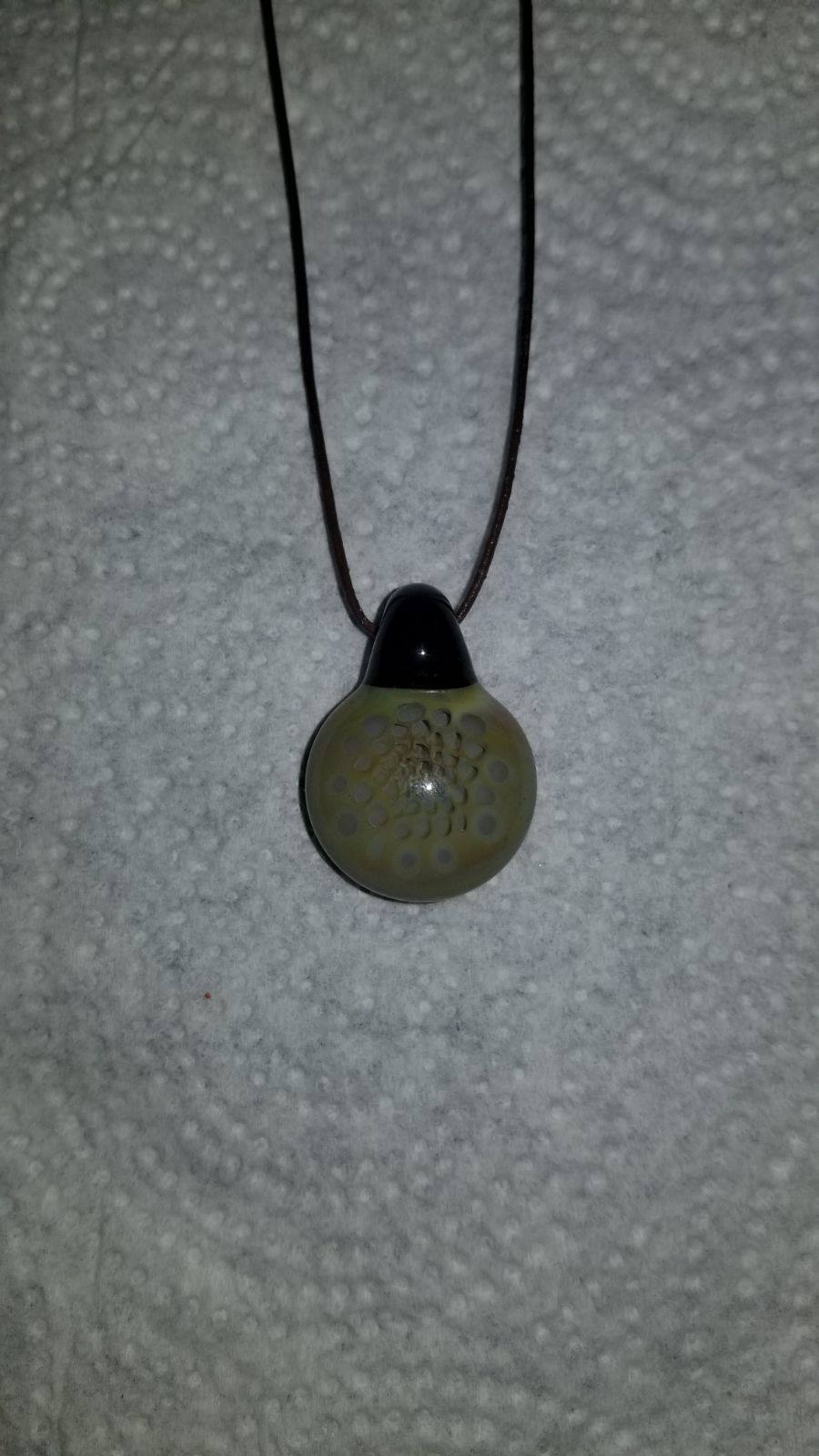 Honeycomb Glass Pendant