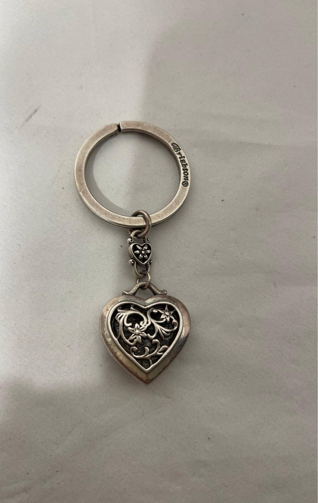Brighton filigree heart keychain