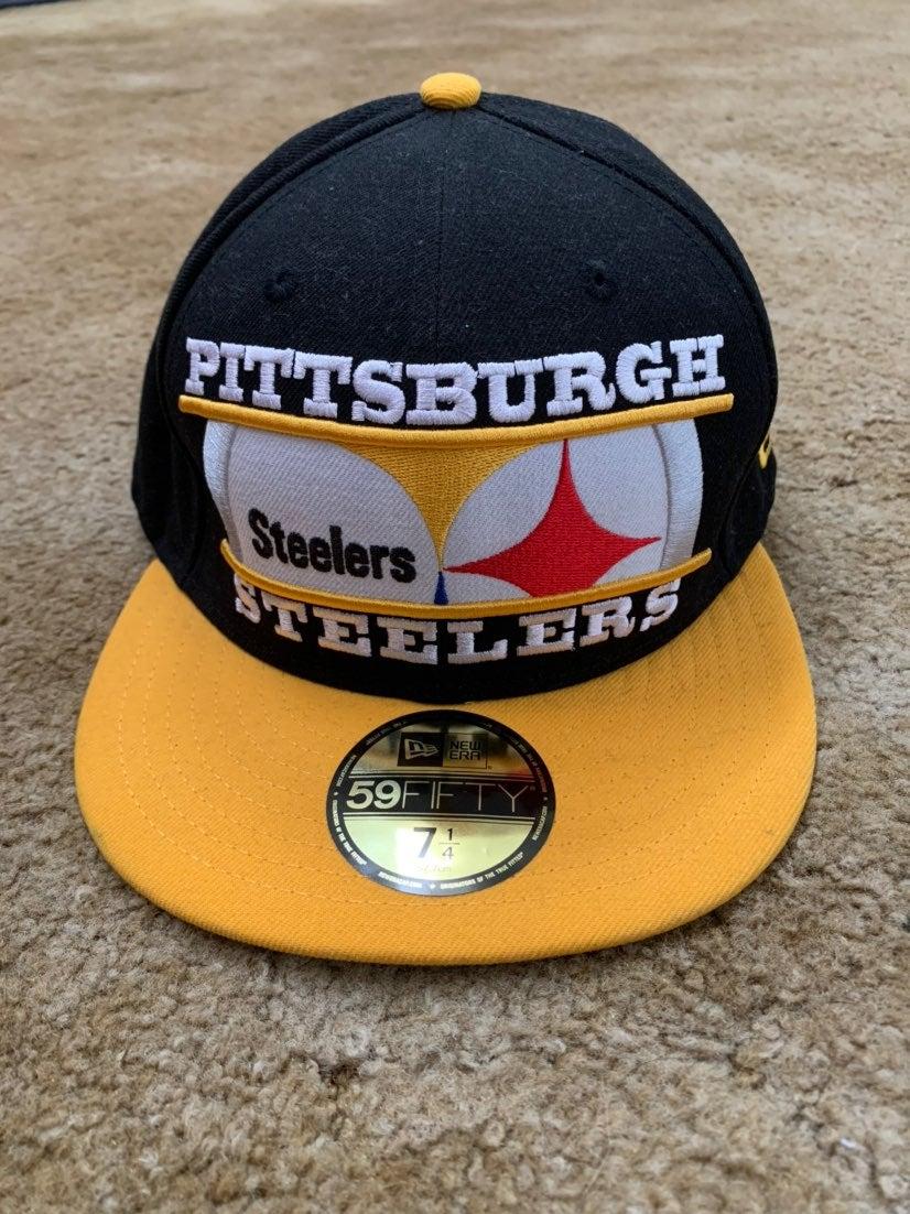 Pittsburgh Steelers Hat Logo Snapback