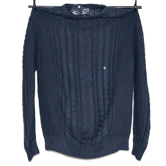 BASS Oversize Navy Blue Sweater  #79534