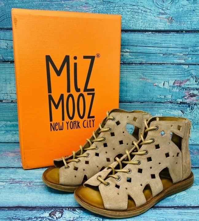 Miz Mooz Leather Gladiator Sandal SZ 6.5