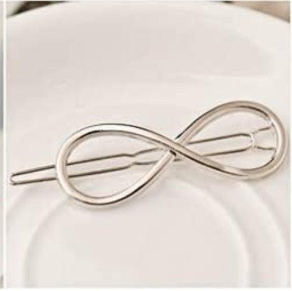 Brandy Melville Silver Symbol Hair Clip