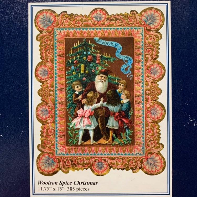 Liberty Jigsaw Woolson Spice Christmas