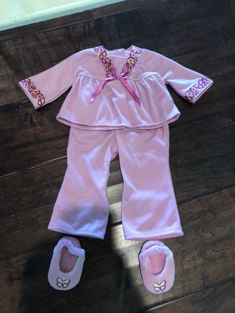American Girl doll PJ set