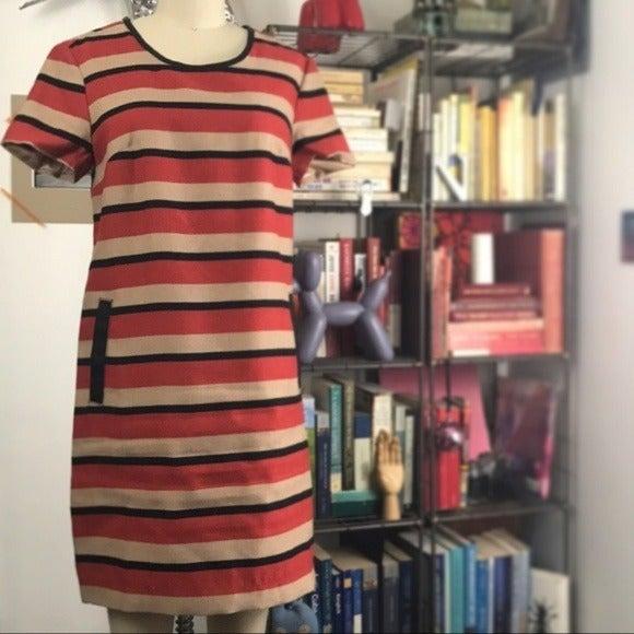 Brooklyn Industries Striped Shift Dress