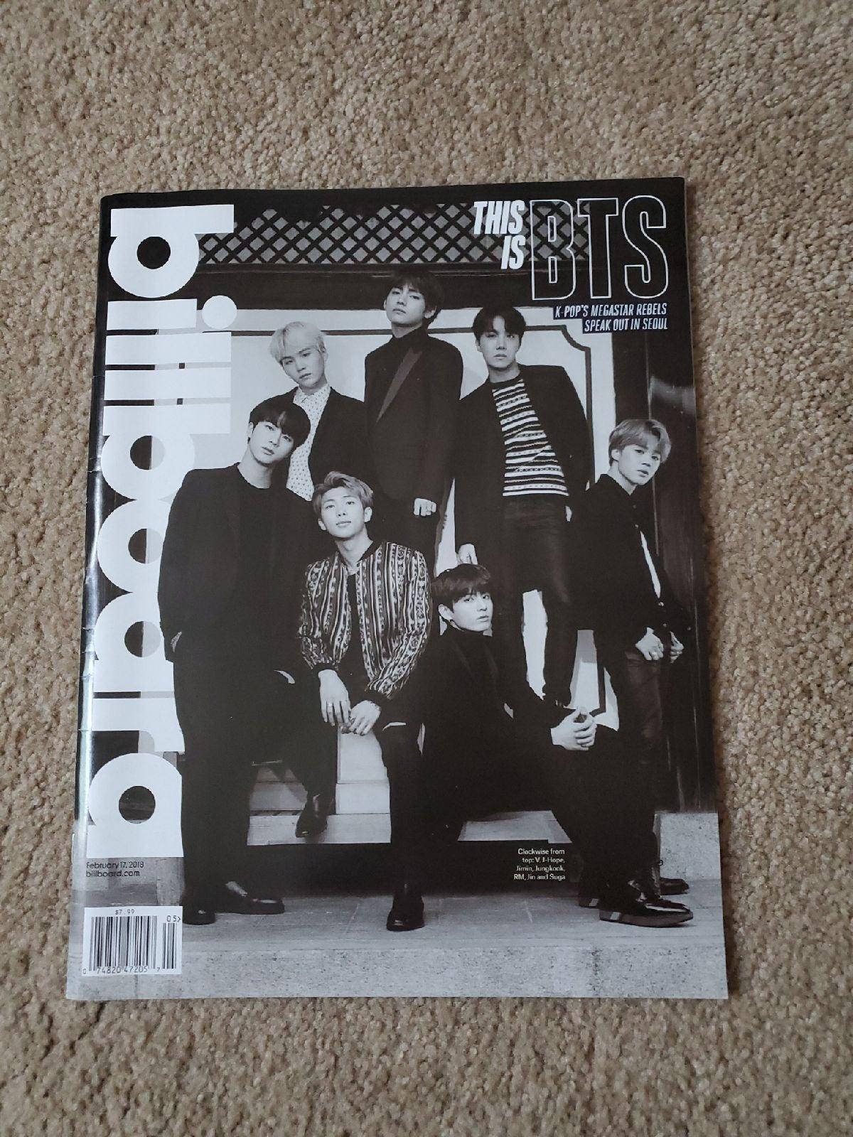 BTS Billboard Magazine (group)