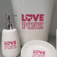 2129e07b7d4d2 Love PINK bathroom Set