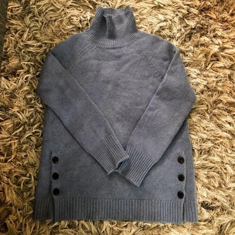 Garnet Hill turtleneck Sweater Size XS