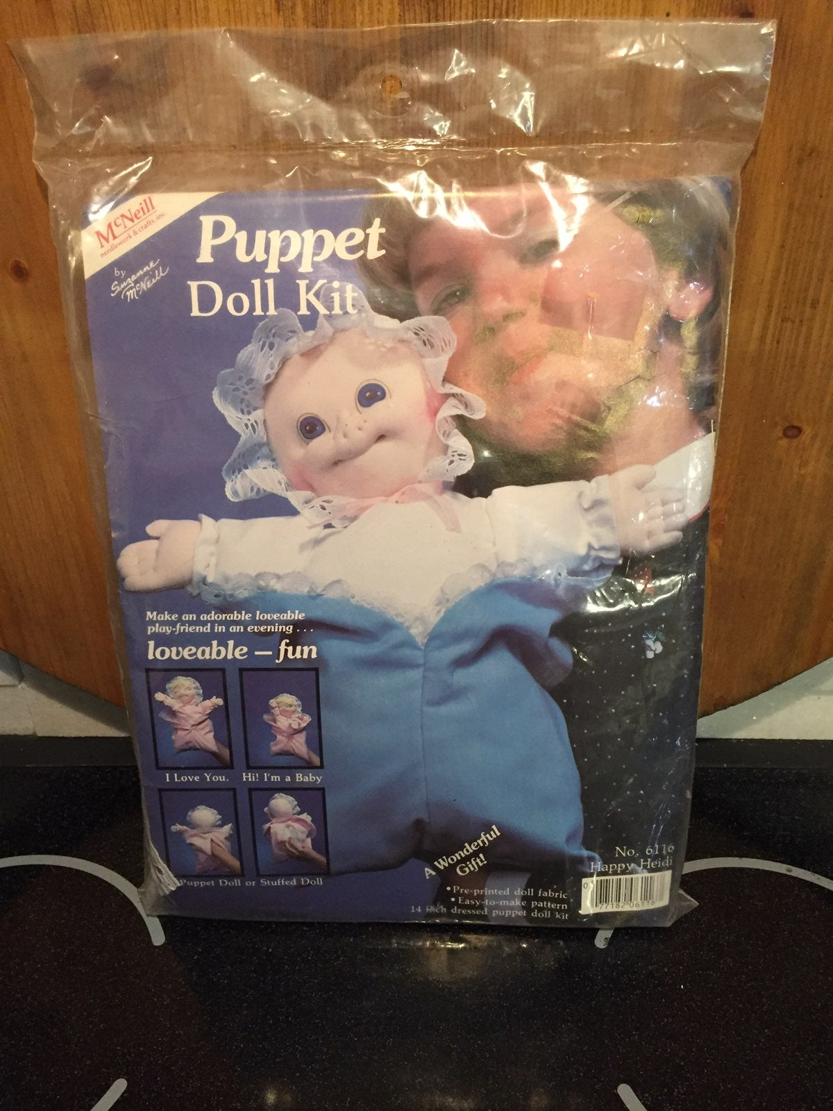 Puppet Doll Kit Happy Heidi
