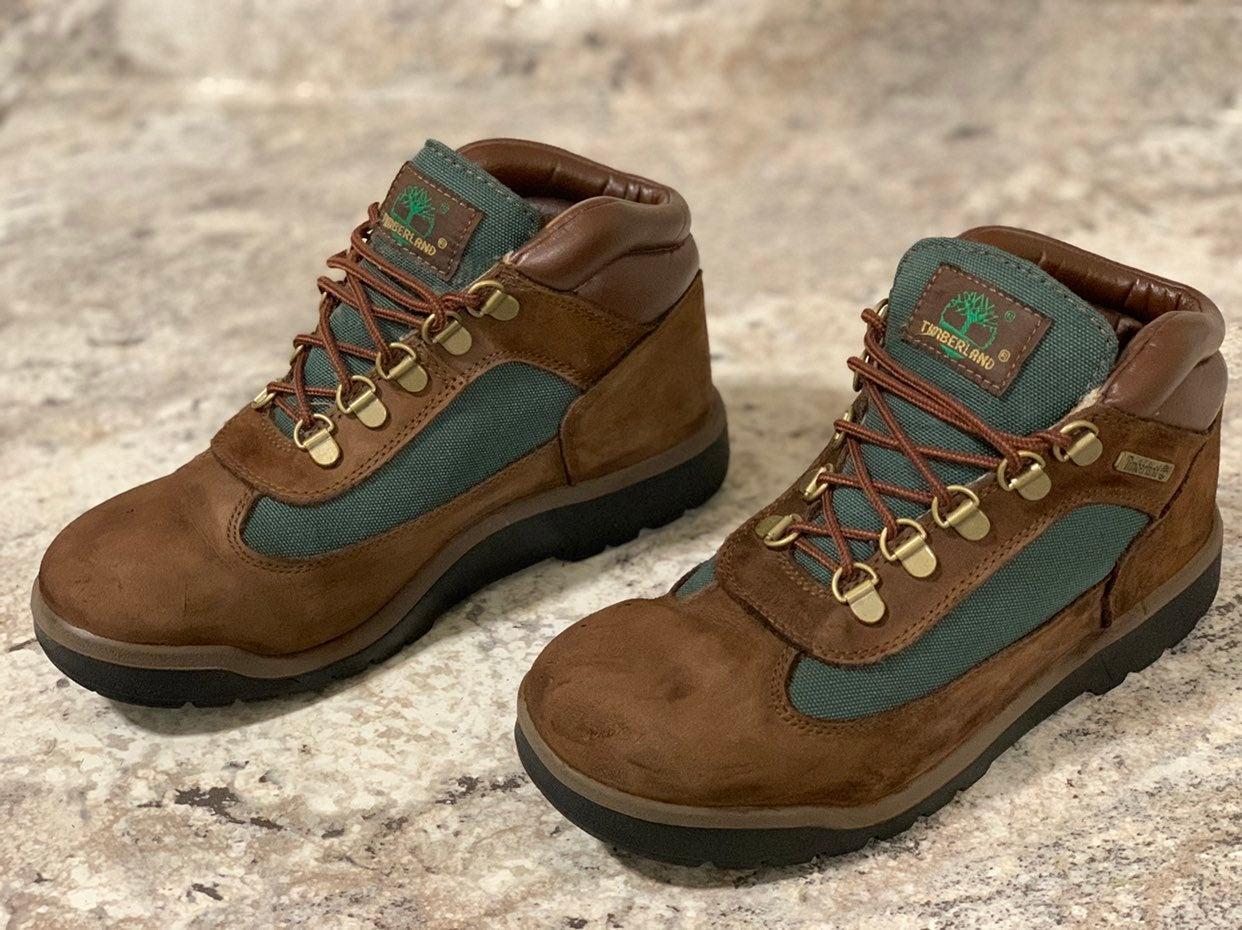 Timberland Field Boots Brown Kid Sz 5