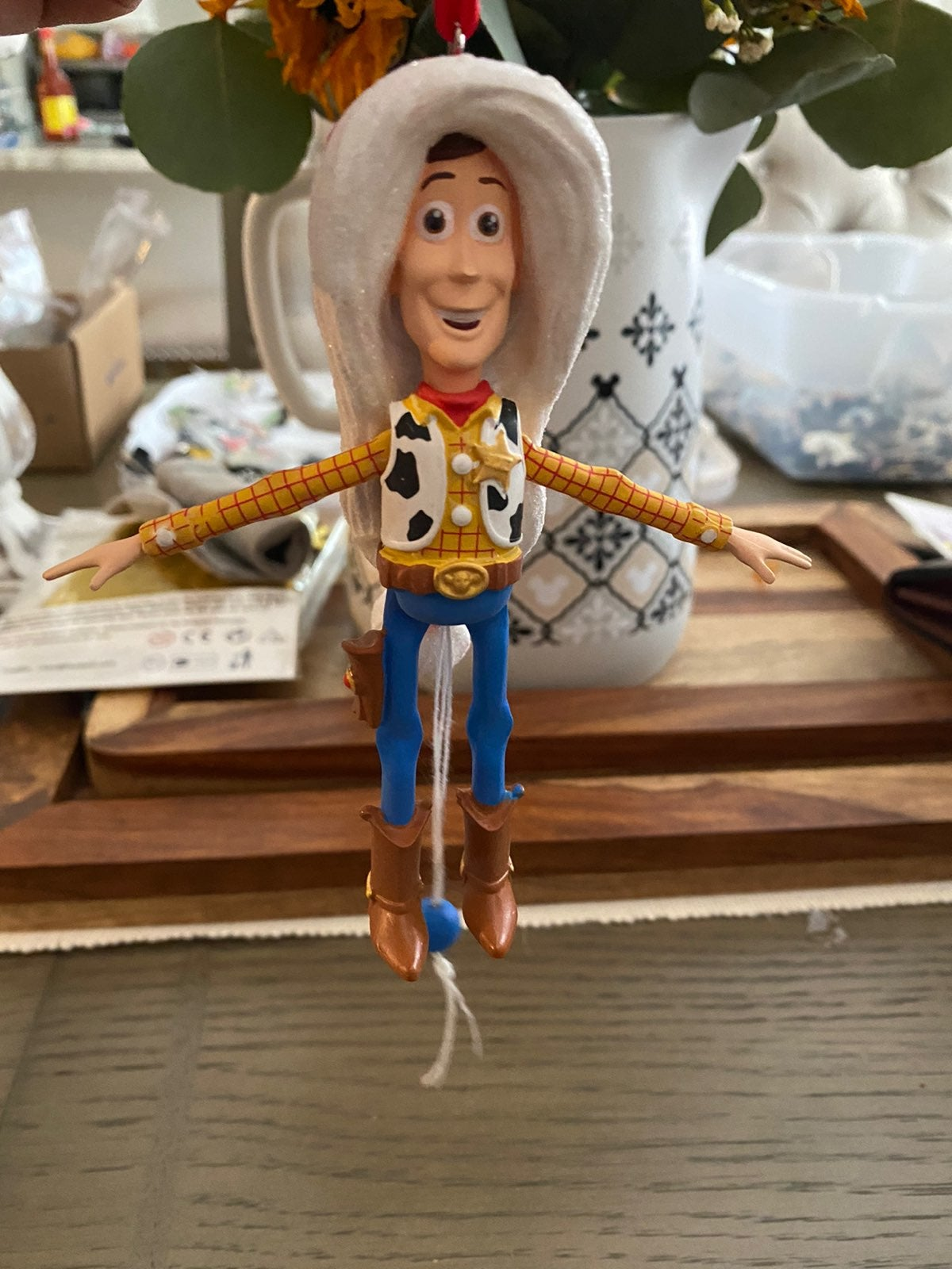 Disney Parks Toy Story Santa Woody Artic
