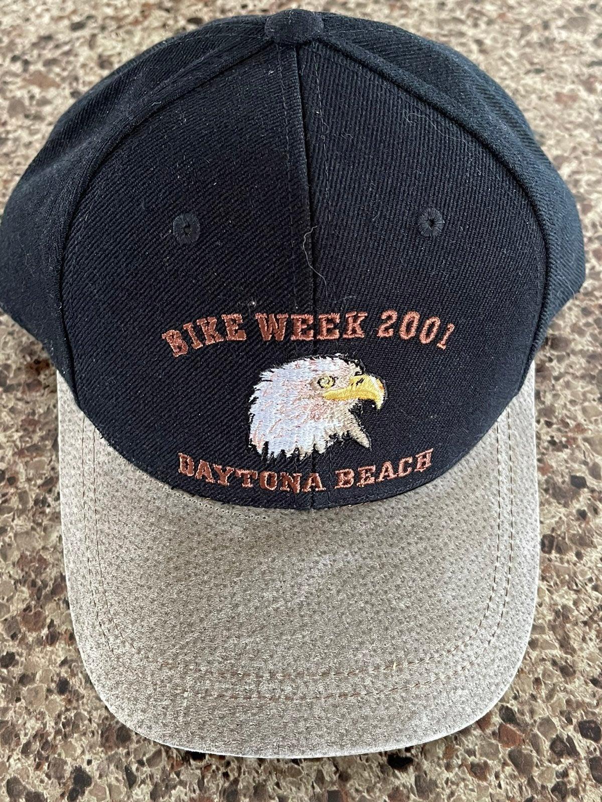 2001 Daytona Bike Week Black Trucker Hat