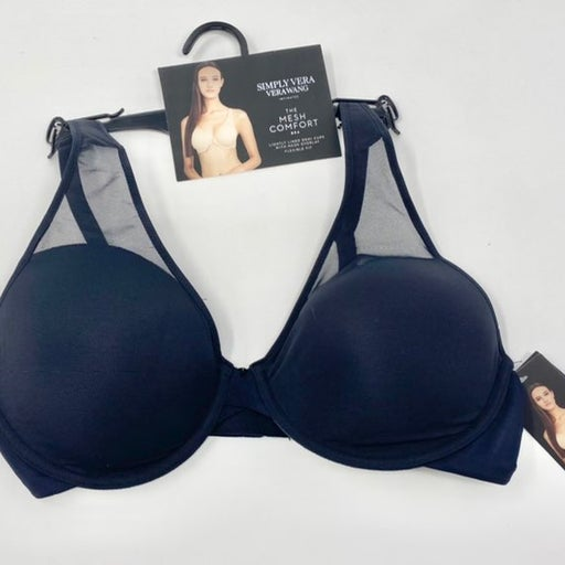 Simply Vera Wang black bra 36C