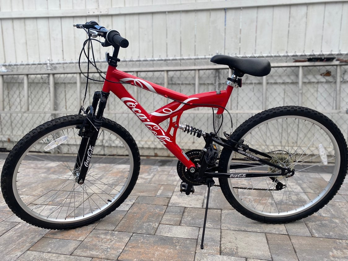 "LTD ED Coca-Cola KENT 26"" Mountain Bike"