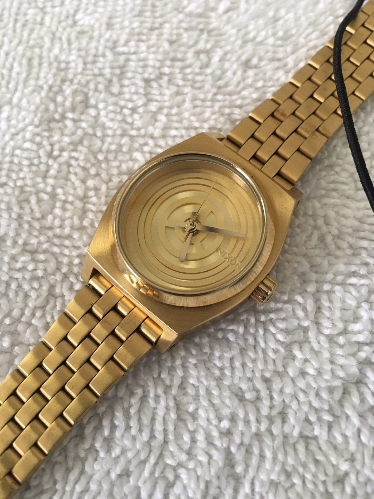 Star Wars Nixon C3PO Gold Watch Small