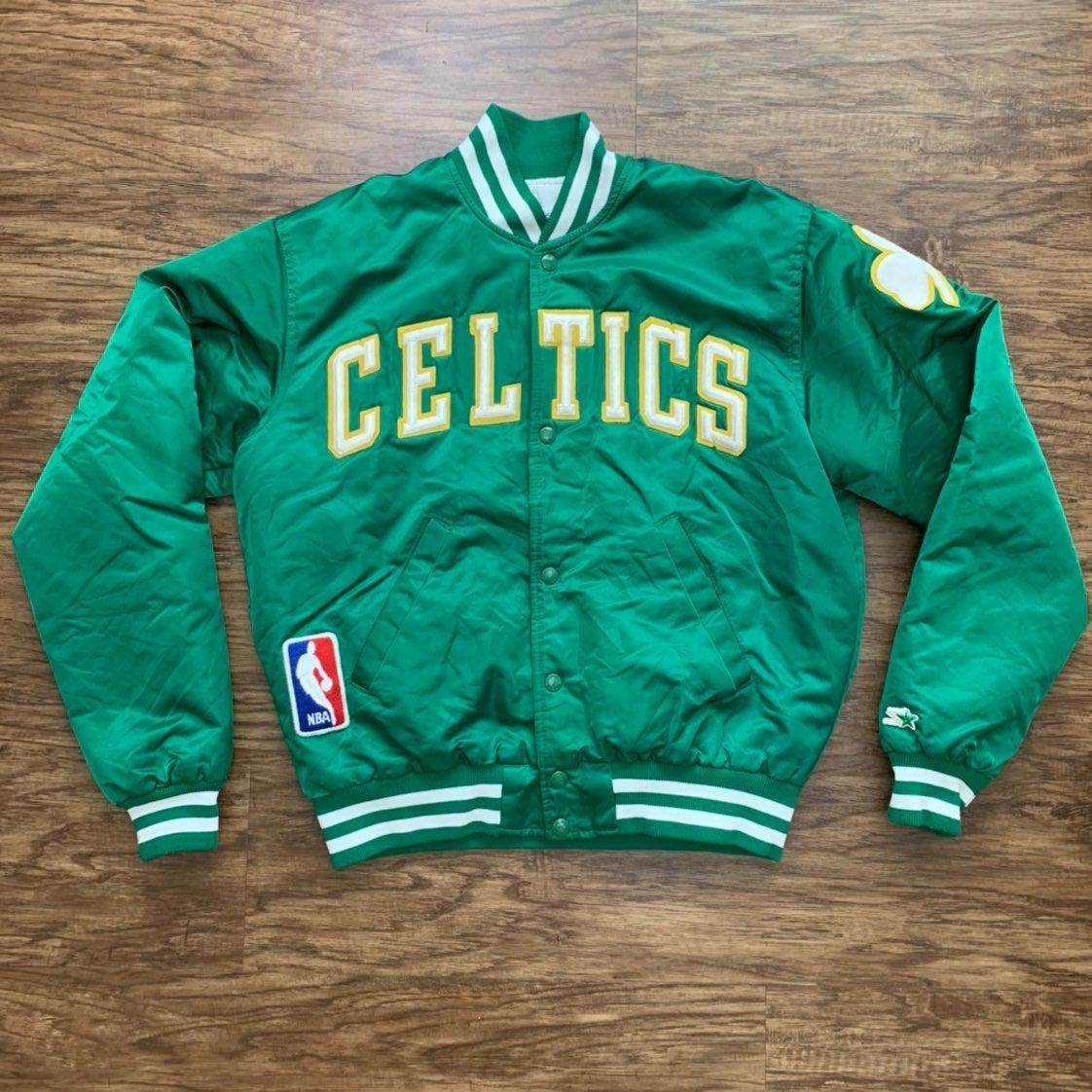NBA Starter Satin Jacket Celtics Medium