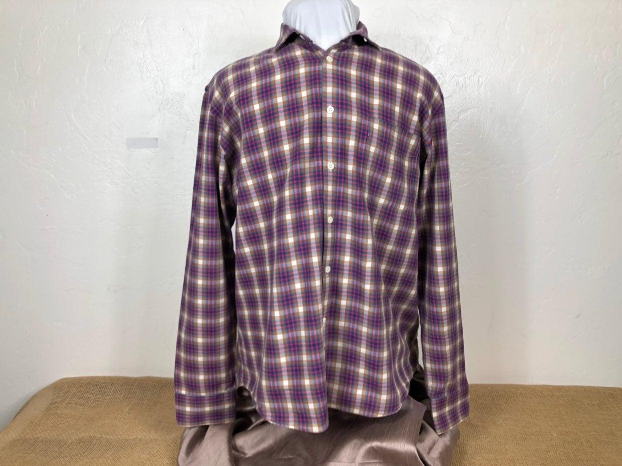 Billy Reid Men's XL Shirt Long Sleeve