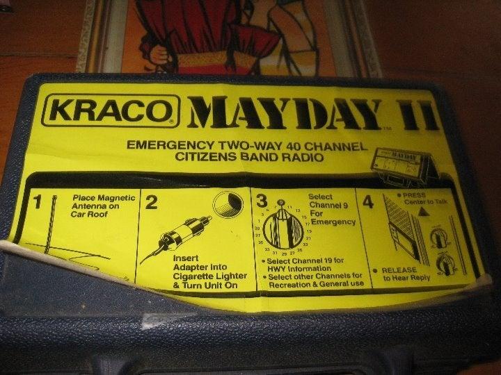 KRACO MAYDAY II 40 channel 2 way radio