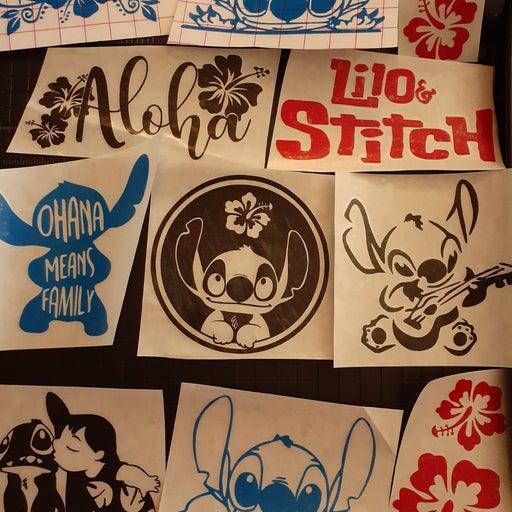 Lilo and stitch decals stickers