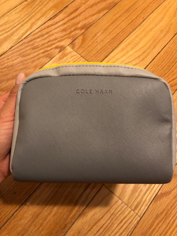 COLE HAAN American Airline makeup bag