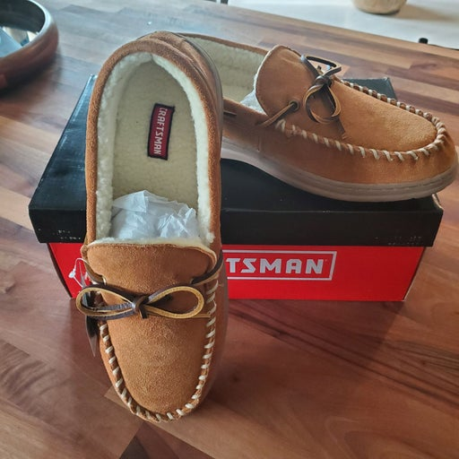 Craftsman NEW memory foam slippers
