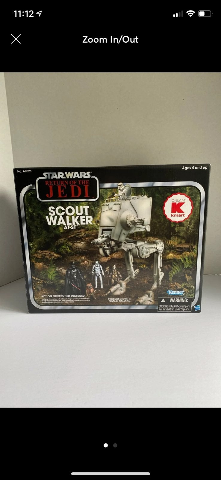 Star Wars vintage collection at-st