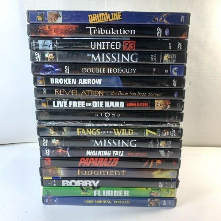 3 DVDS only - Private SALE