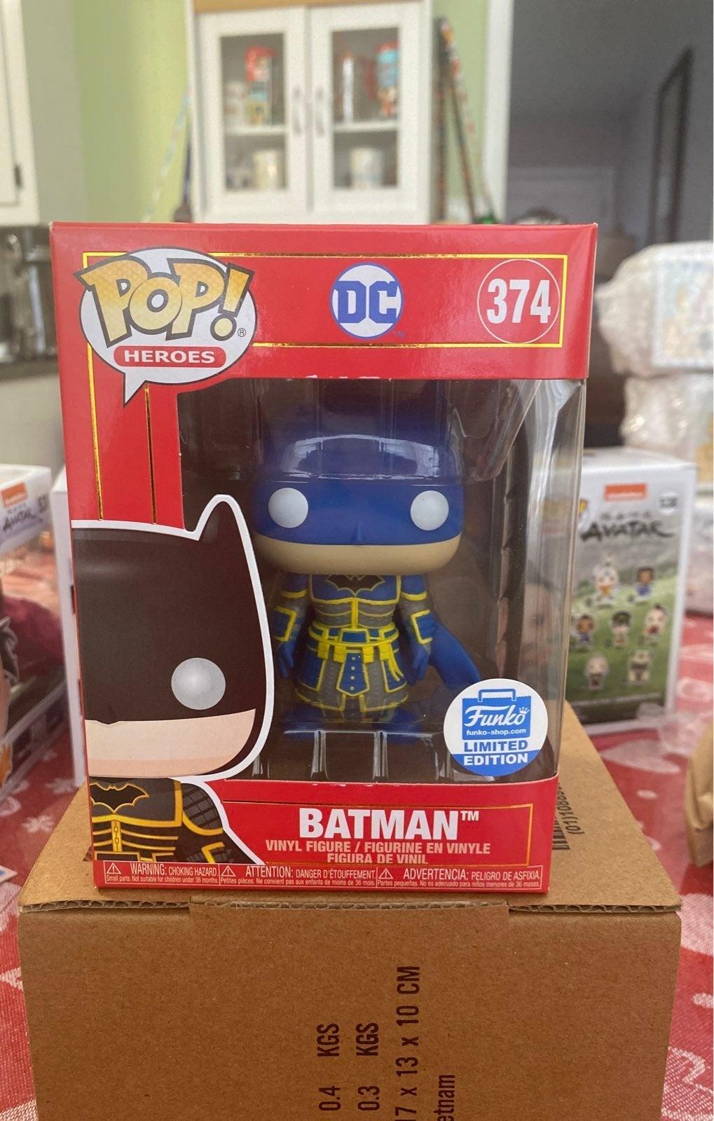 Blue Imperial Batman 374 Funko Pop! Excl
