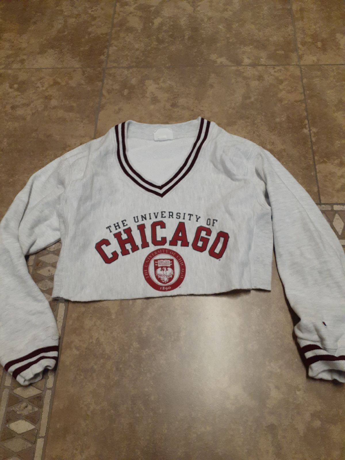 Champion Pullover Crop Womens XS