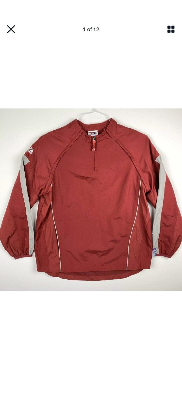 Majestic Cool Base YXL Warm Up Jacket