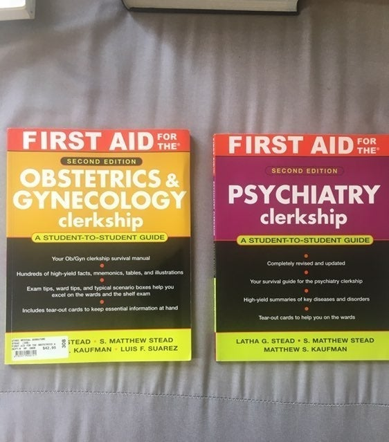 First Aid For The Clerkship Series