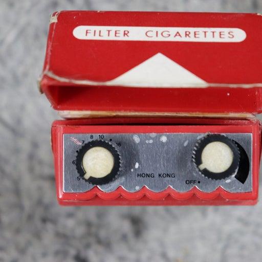 Nonworking Malboro cigarette radio